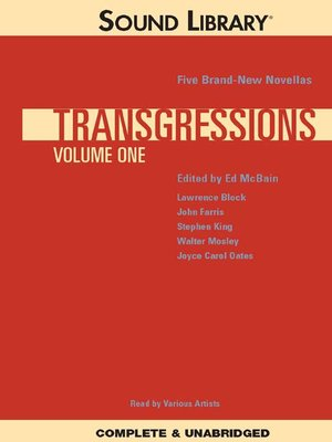 cover image of Transgressions, Volume 1